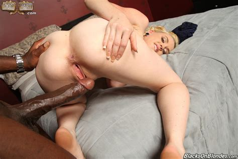 Sexy Blonde Miley May Fucked By Huge Black Cock In A