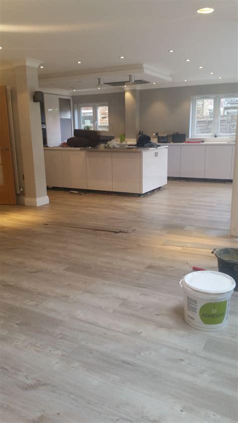 Wooden Kitchen Flooring Ideas by Amticoflooring Spacia Wood Sun Bleached Oak