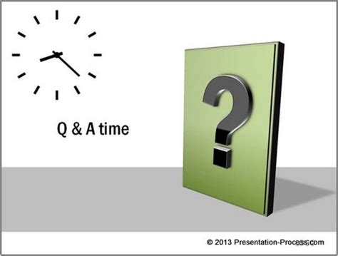 Powerpoint Questions And Answers Template by Creative Question Marks In Powerpoint