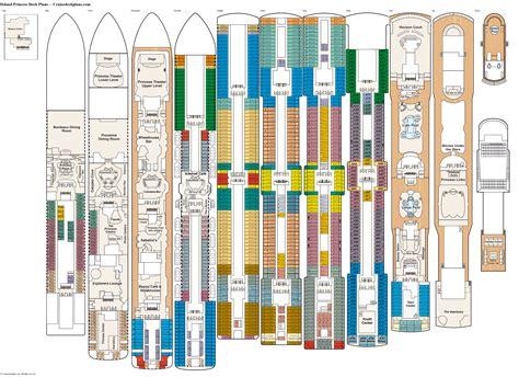 Princess Deck Plans Ships by Britannia Cruise Ship Deck Plan Newhairstylesformen2014