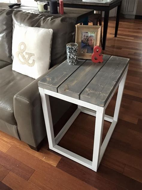 Coffee Side Tables Living Room Furniture by Rustic Home Decor White Diy Shanty 2 Chic