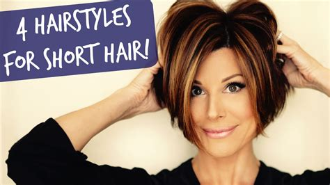 4 Easy Short Hairstyles That Will Make You Want A Bob