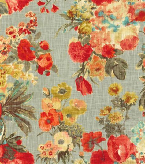 foto de HGTV Home Upholstery Fabric Garden Odyssey Fog in 2020