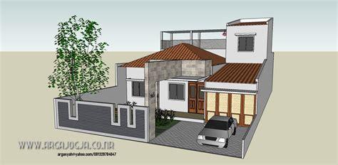 desain rumah  lantai bentuk  rumah mewah bentuk  satu