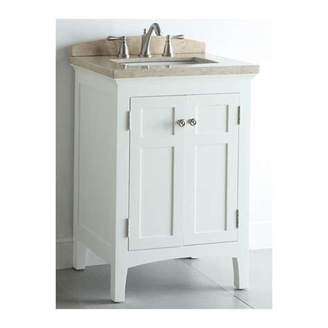 allen roth bathroom vanity tops shop allen roth windleton white with weathered edges