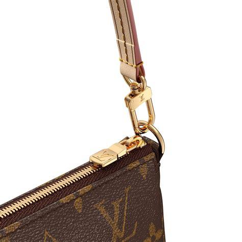 pochette accessoires nm monogram collection femme louis vuitton