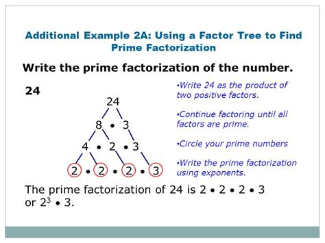 preparation for ns2 4 determine the least common