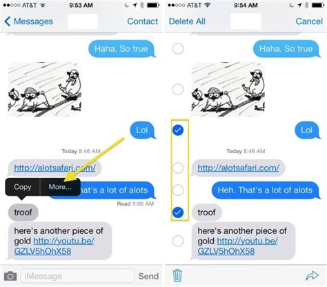 how to make a message on iphone how to delete text messages from your iphone in ios 7 ios
