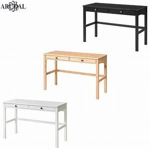 Ikea Couchtisch Hemnes : ikea hemnes desk with 2 drawers home office solid wood various colours 120x47cm ebay ~ Orissabook.com Haus und Dekorationen