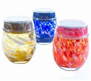 solar hand blown glass votives With kitchen cabinets lowes with blue glass votive candle holder