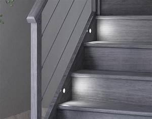 Kit Led Escalier : kit clairage escalier 8 spots led vita confort ~ Melissatoandfro.com Idées de Décoration
