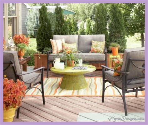 patio furniture on a budget home design ideas and pictures deck decorating ideas 1homedesigns com