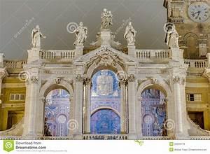 The Papal Basilica Of Saint Mary Major In Rome, Italy ...