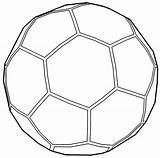 Soccer Ball Outline Coloring Football Pages Wecoloringpage Sports Cool Printable Sheets Read sketch template