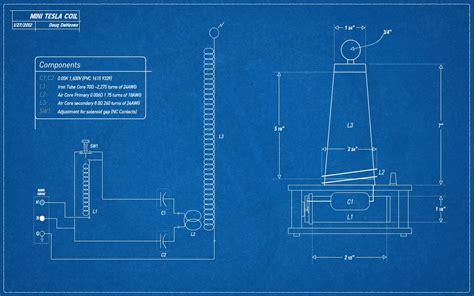 Schematic Diagram Of Tesla Coil