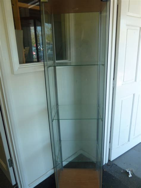 ikea detolf cabinet uk ikea detolph detolf glass display cabinet ebay