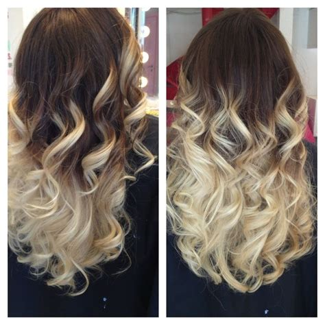 hair color dark to light dark brown to light blonde ombre hair made by pizofcake