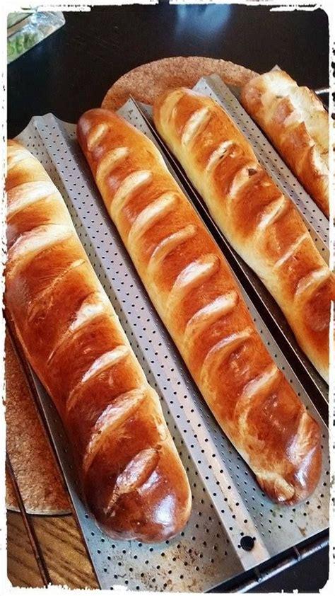 cuisine viennoise baguette viennoise au thermomix nature et pépites de