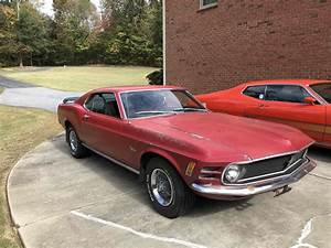 1970 Ford Mustang Fastback Is An Unrestored Survivor