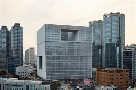 Firmenzentrale Amorepacific In Seoul firmenzentrale amorepacific in seoul sonnenschutz b 252 ro