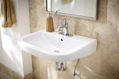 wicker park single hole wall hung bathroom sink gerber