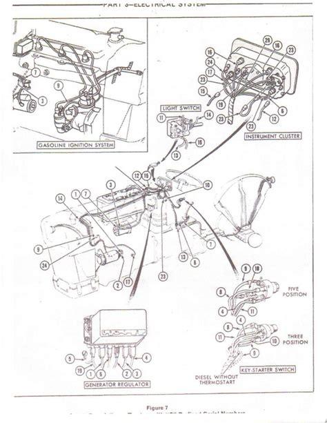 connector diagram alternator asn deere conversion circuit