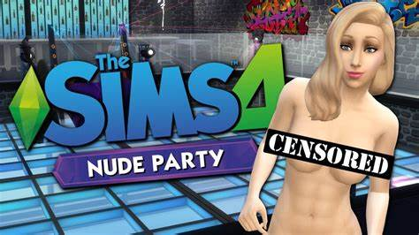 Thong Out In The Sims4 World