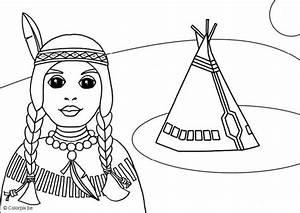 Dibujos de indígenas para imprimir y colorear Colorear imágenes