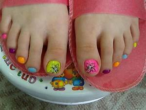 fingernail and toenail designs for kids | Toe Nail Art Toe ...