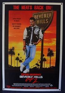 All About Movies - Beverly Hills Cop 2 1987 One Sheet ...