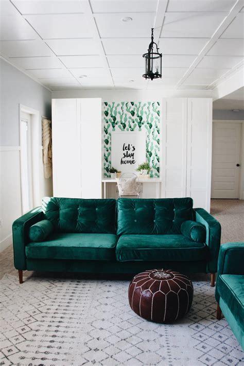 custom slipcovers  velvet   ikea karlstad sofa  comfort works httpscomfort works