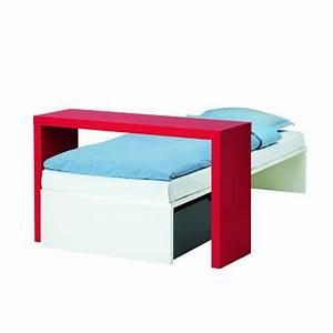 Table De Lit Ikea : lit d 39 appoint blanc odda et table d 39 appoint malm ikea marie claire maison ~ Teatrodelosmanantiales.com Idées de Décoration