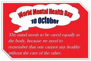 World Mental He... Historical Health Quotes