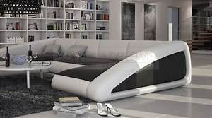 U Form Sofa : wohnlandschaft nassau u form ledersofa design couch polstersofa ~ Buech-reservation.com Haus und Dekorationen