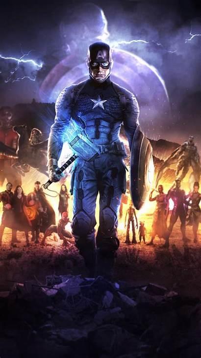 Captain America Endgame Mjolnir Avengers 4k Hammer