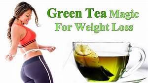Green Tea - The Answer To Burning Fat