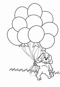 Birthday Balloons Coloring Pages - Coloring Home