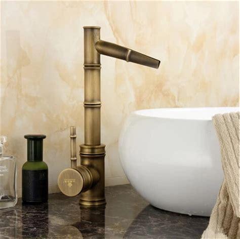 antique kitchen sink antique brass bathroom vintage sink tap mixer water bamboo 1282