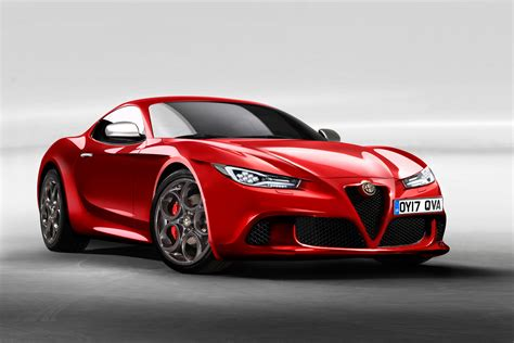 Alfa Romeo Car : New Alfa Romeo 6c Will Aim To Topple The F-type