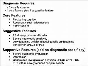 Revised criteria for the clinical diagnosis of dementia ...