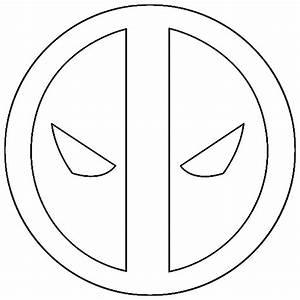 Deadpool Logo 1 Outline by mr-droy on DeviantArt