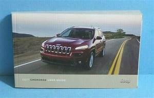 2017 17 Jeep Cherokee Suv Owners Manual Books Guide Case