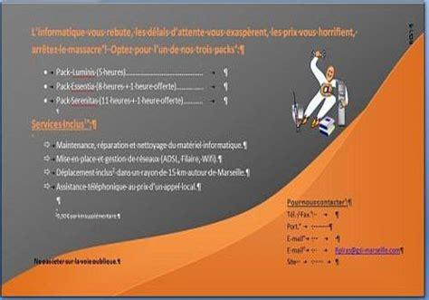 Technic Bureau Service Flyers by T 233 L 233 Charger Flyer Word 2007 Pour Windows Shareware