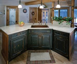 bathroom faux paint ideas custom stained painted distressed island cabinets