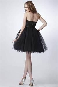 petite robe noire bustier coeur pour un mariage d39ete en With robe noire pour un mariage