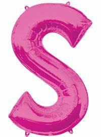 giant pink letter balloons foil alphabet balloons With giant pink letter balloons