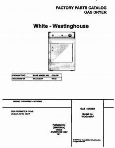 White-westinghouse White-westinghouse  Dryer
