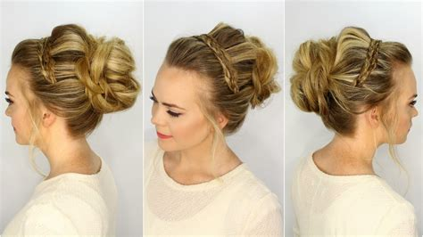 Feel Comfy And Beautiful With Braided Headband Updo!