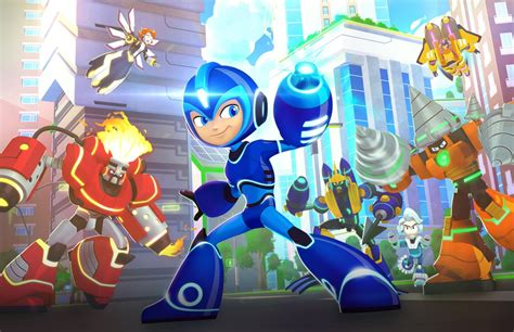 Rockman Corner Official Mega Man Fully Charged Character