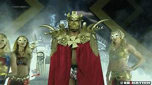 Triple H's Wrestlemania entrance is stupid and amazing ...